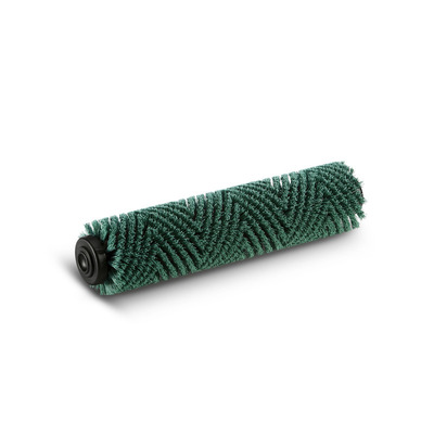 Escova cilíndrica, duro, verde, 450 mm