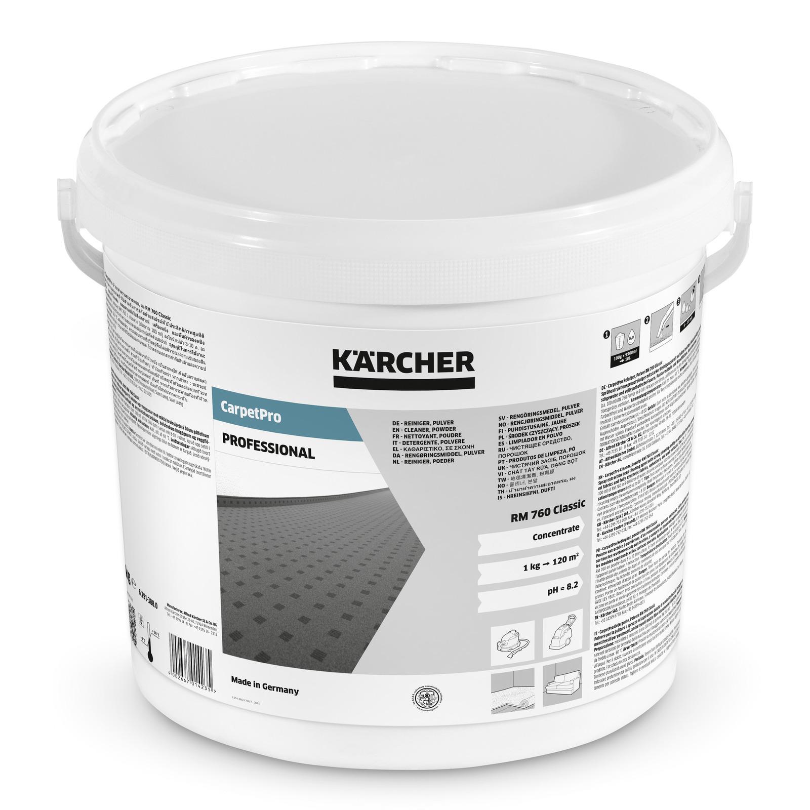 Kärcher - Čistič koberců CarpetPro RM 760 prášek, 10kg
