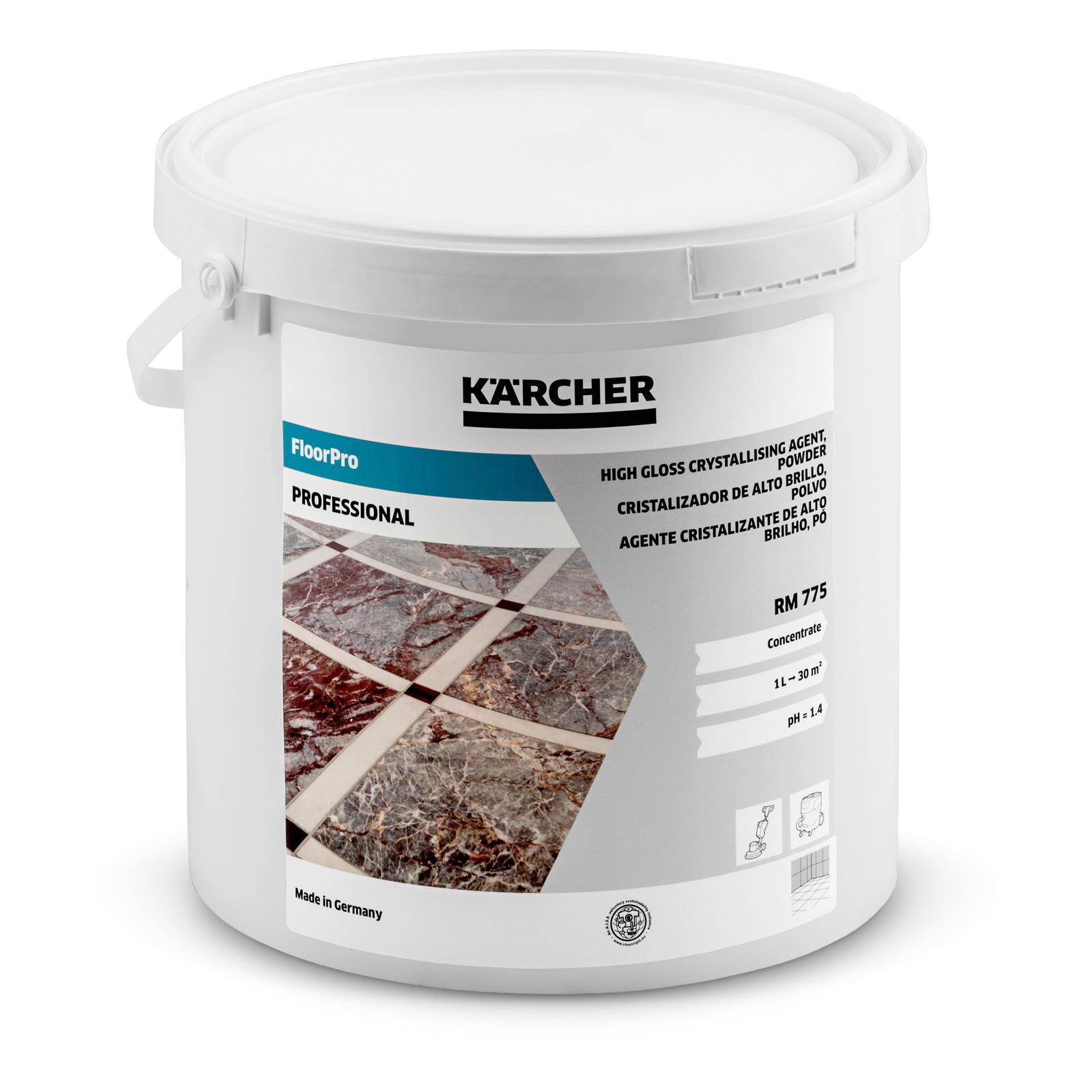 E-shop Kärcher - Krystalizační přípravek pro vysoký lesk RM 775, prášek, 5kg