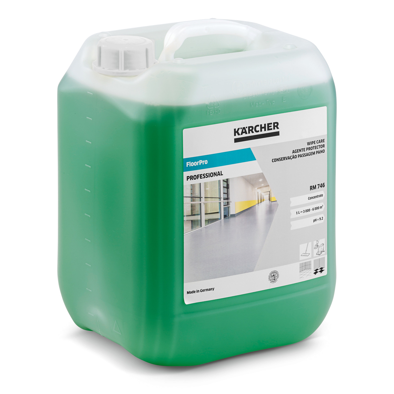 FloorPro Wipe Care RM 746, 10 l ...