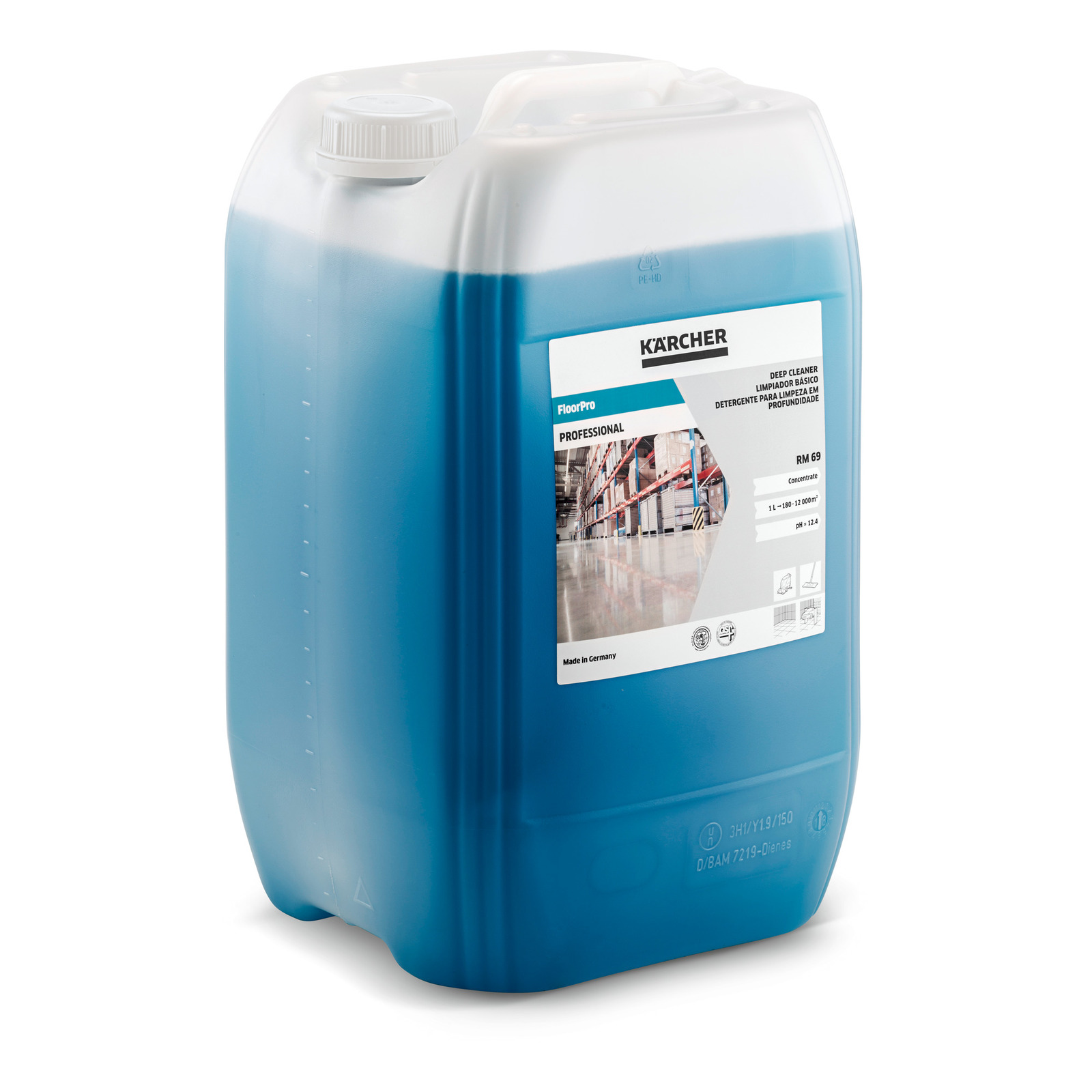 FloorPro Deep Cleaner RM 69, 20 L