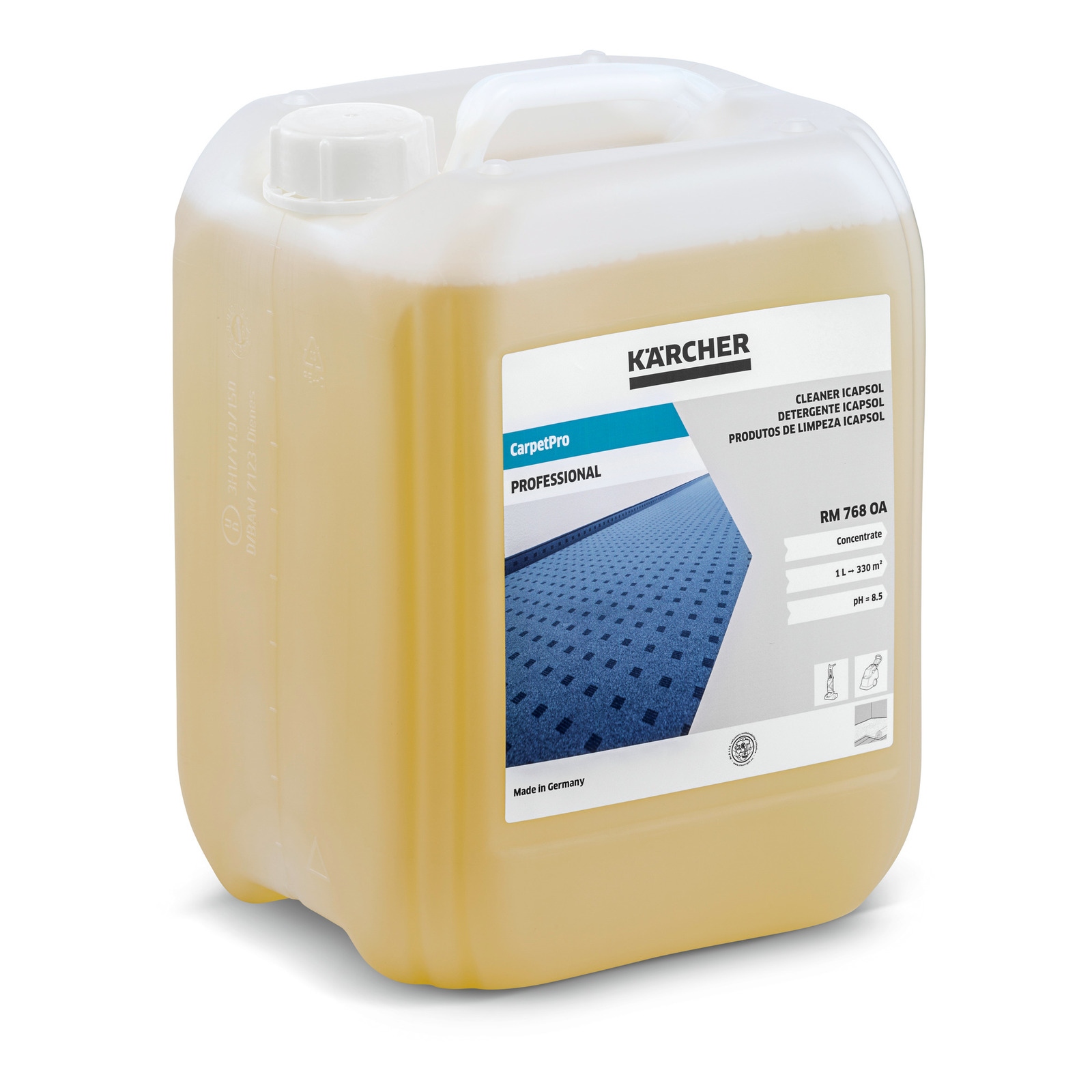 carpetpro cleaner icapsol rm 768 oa 10l, 10 l | kärcher uk