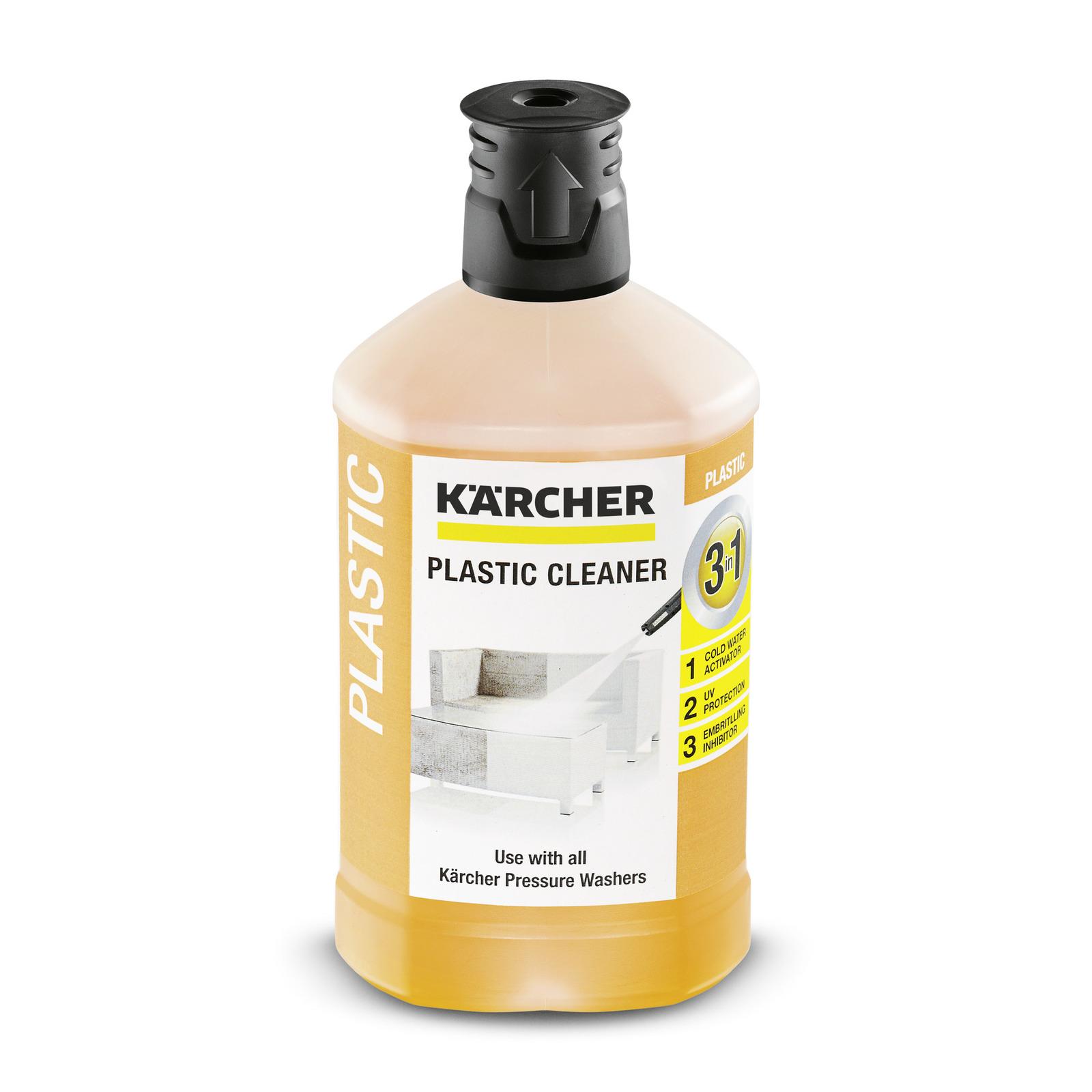 Detergente para la limpieza de plástico 3 en 1, 1 l | Kärcher