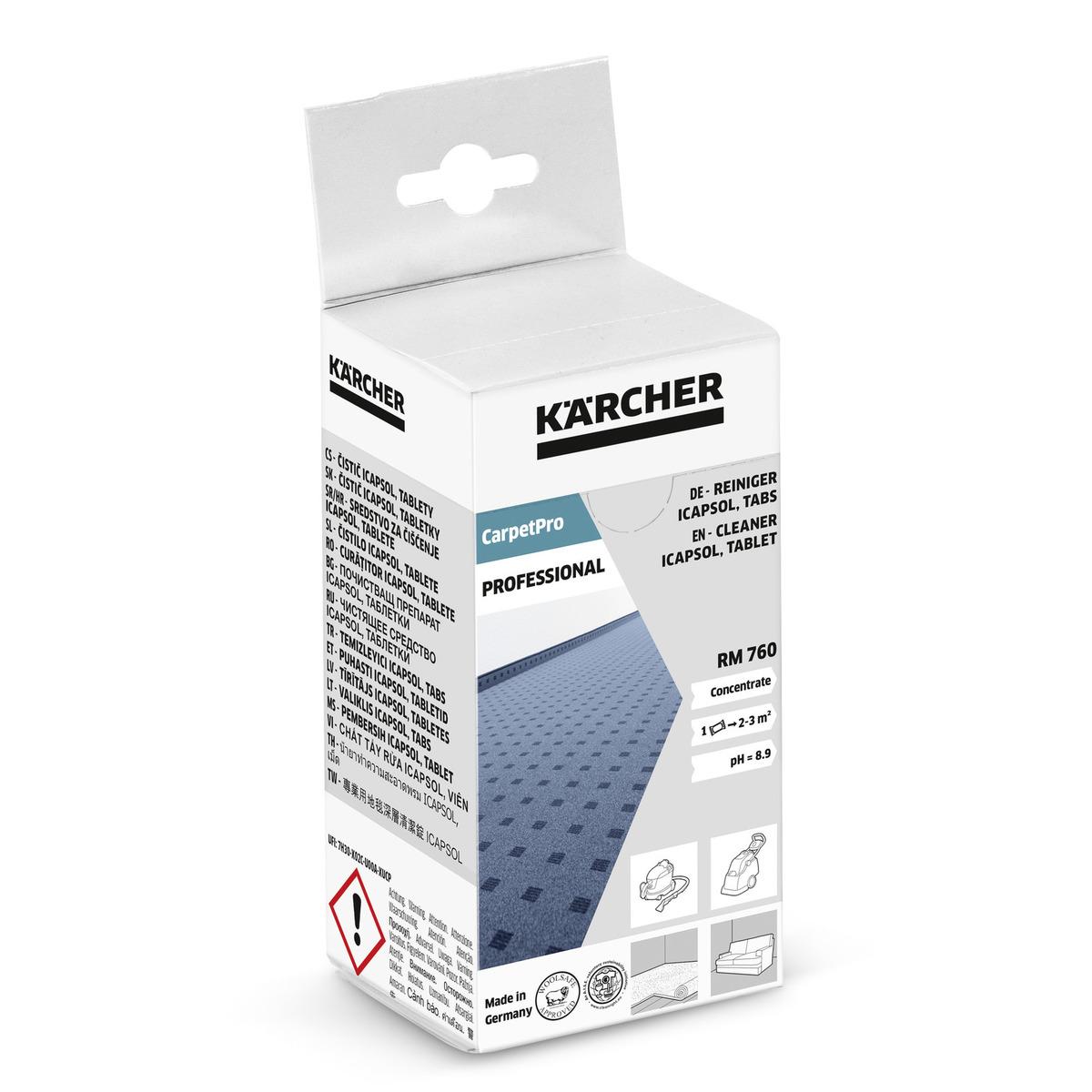 Kärcher  CarpetPro Szőnyegtisztító RM 760 Tabletta