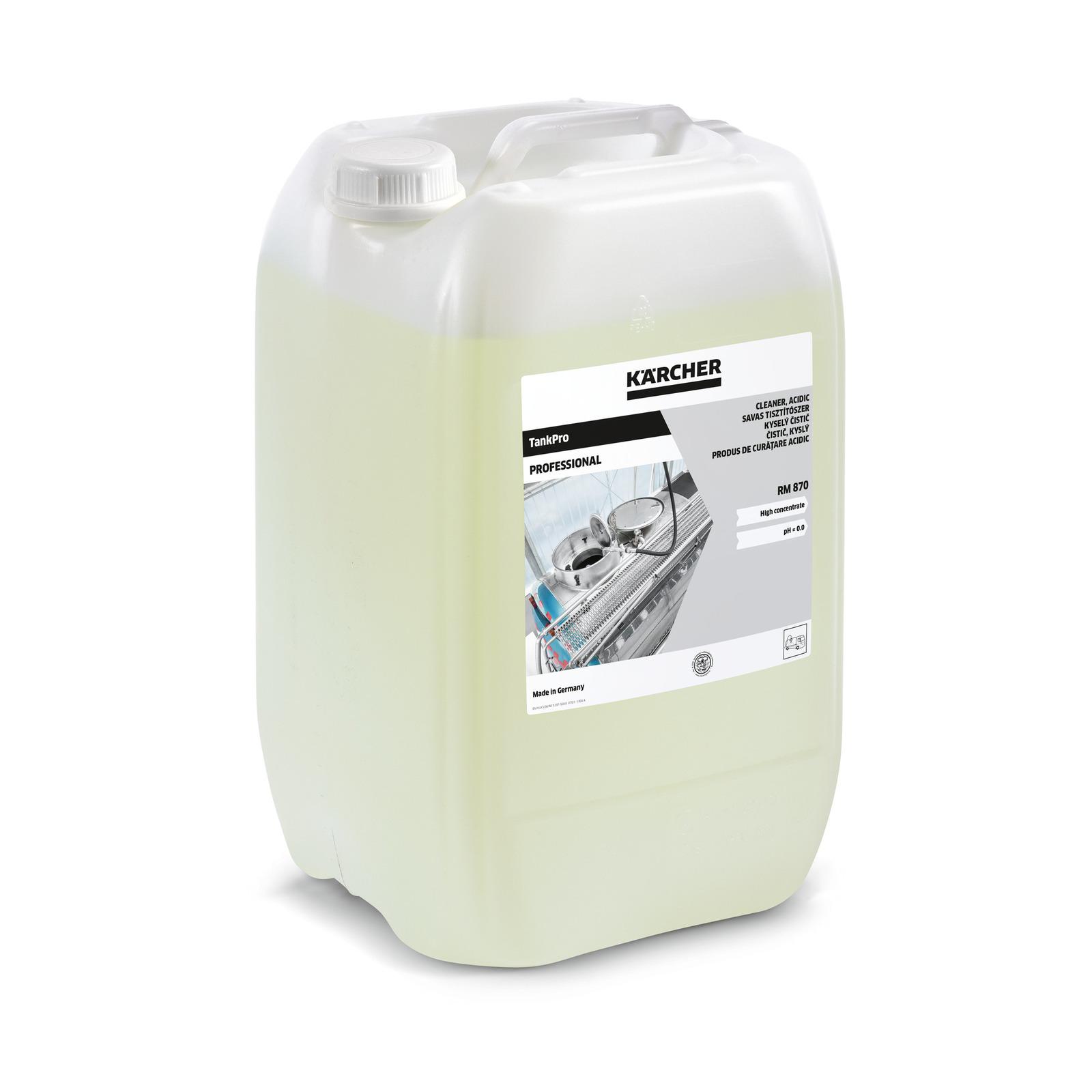 TankPro Reiniger, sauer RM 870, 20 l | Kärcher International