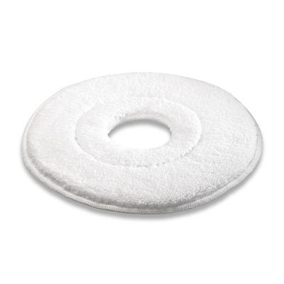 Pad de microfibras, microfibra, branco, 457 mm