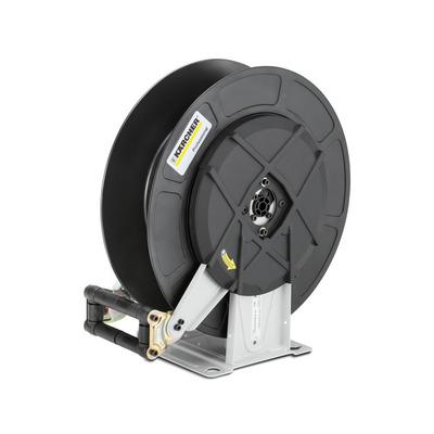 Automatische Schlauchtrommel, Stahl pulverbeschichtet / Kunststoff