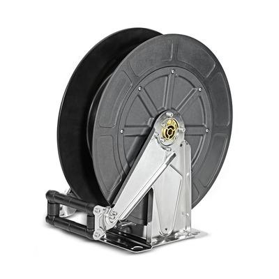 Automatische Schlauchtrommel Edelstahl / Kunststoff