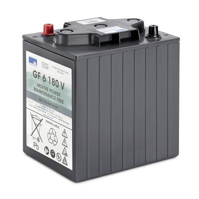 Conjunto de baterias, 6 V, 180 Ah, não precisa de manutenção