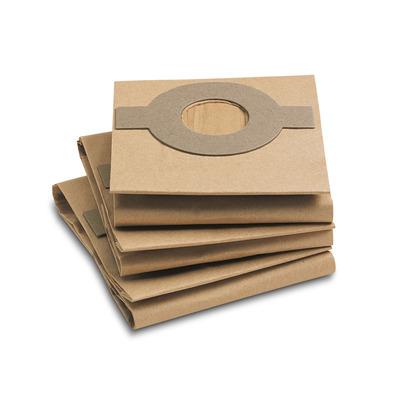Sacos filtrantes em papel