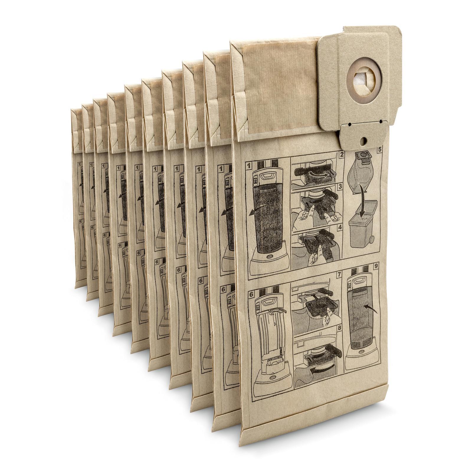 a61cc0fcc Papierové filtračné vrecká  Kärcher