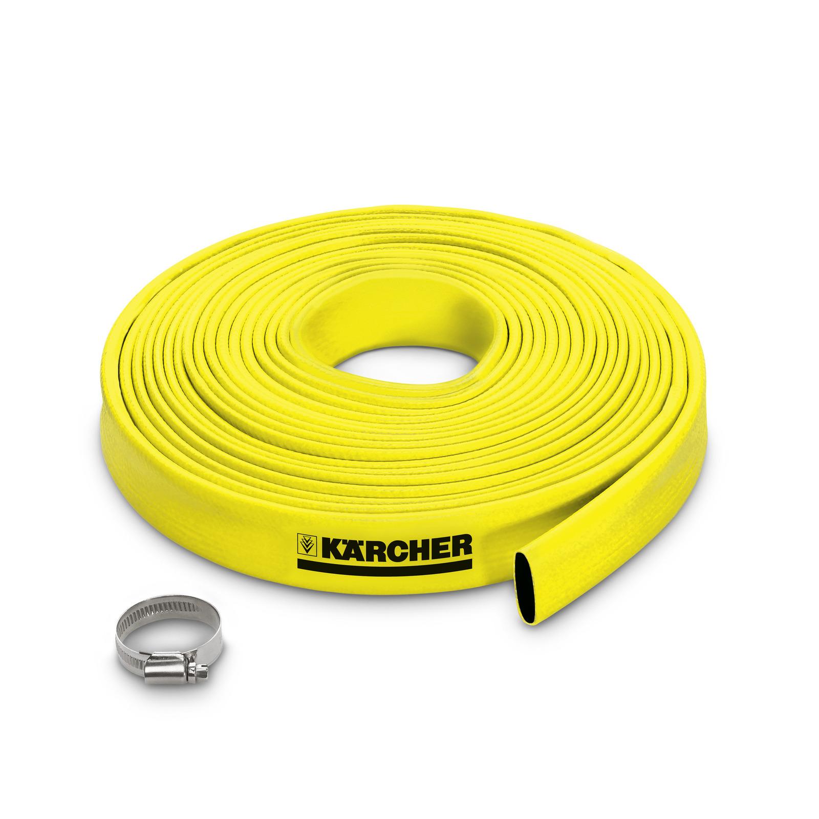 Flat hose with clamp kärcher uk