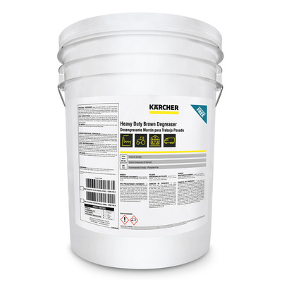 Heavy Duty Brown Degreaser / Detergent   Kärcher