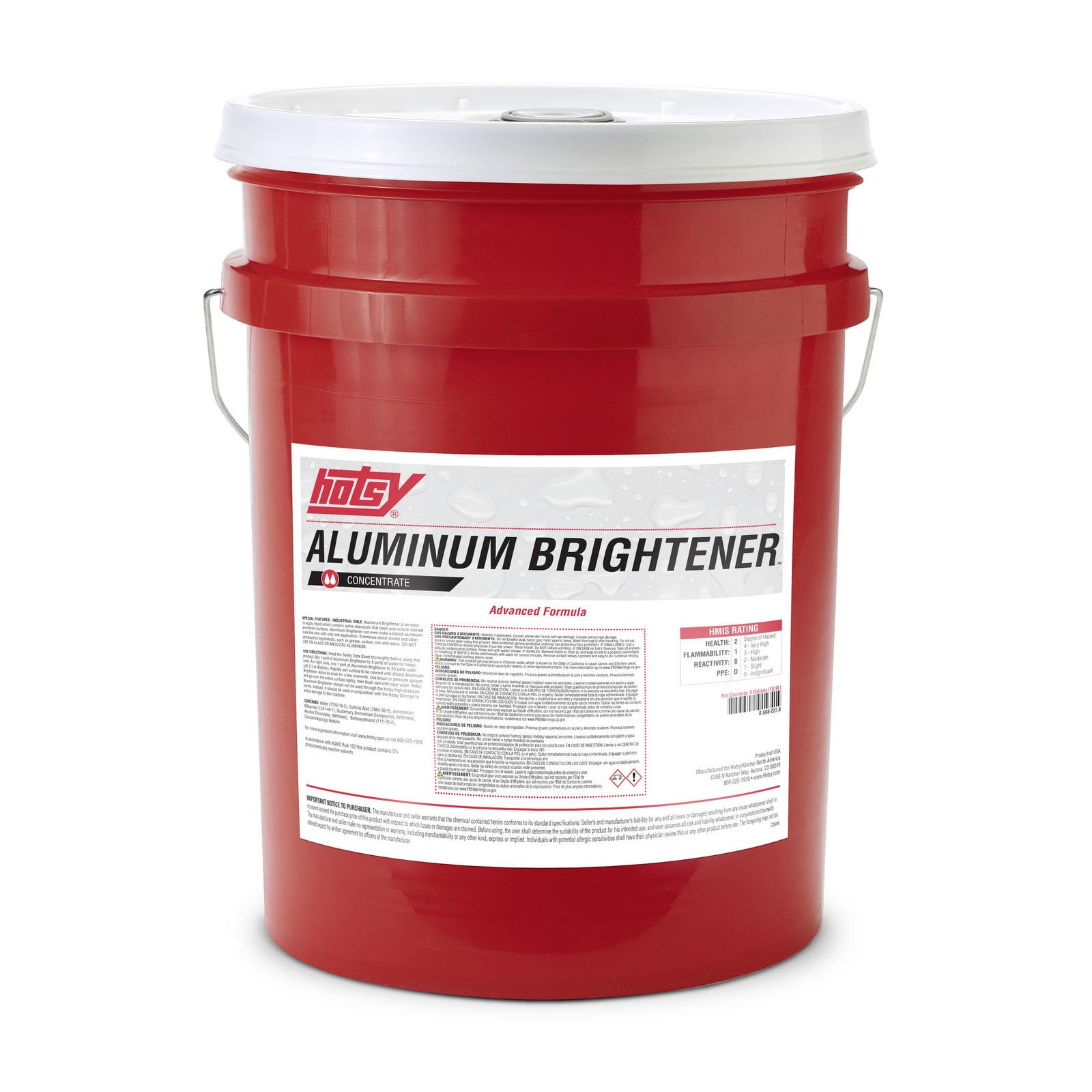 Advanced Formula Aluminum Brightener | Hotsy
