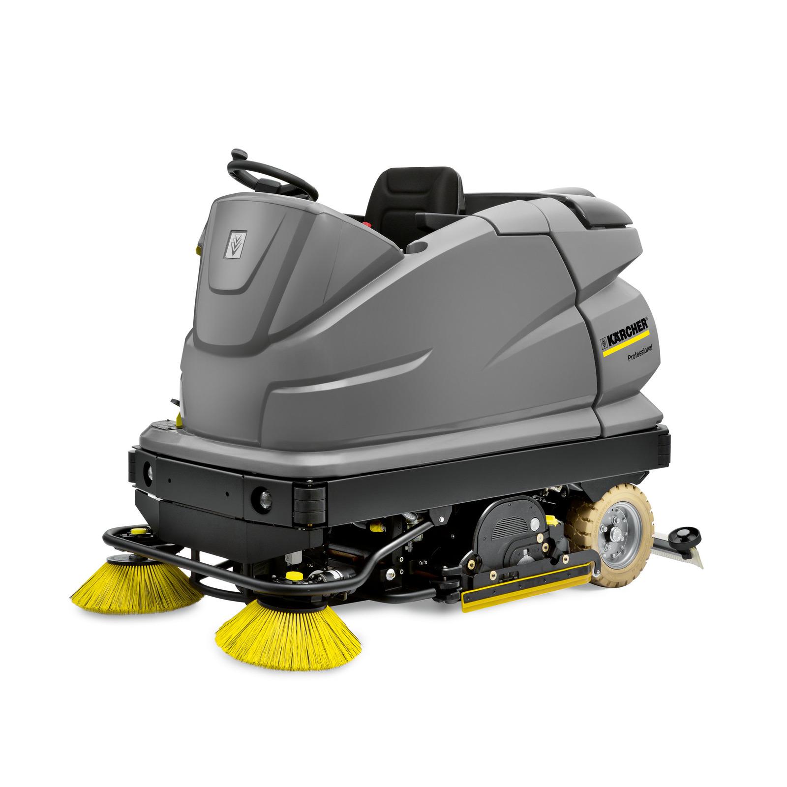 B R RideOn Floor Scrubber Kärcher - Used riding floor scrubber for sale
